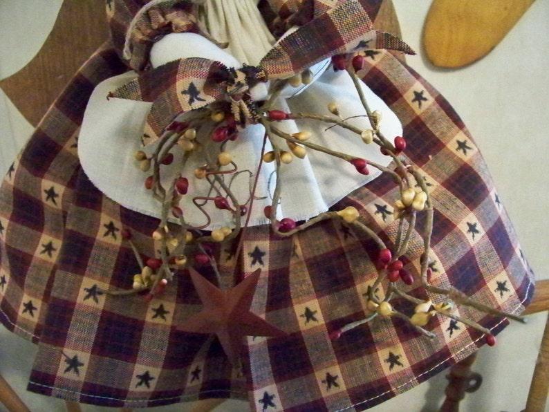 Angel Tree Topper Christmas Rustic Angel Tree Topper Angel Topper for Christmas Tree Farmhouse Angel Tree Topper Angel Tree Topper