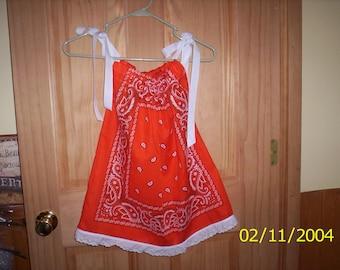 Cindy's Bandana Dresses