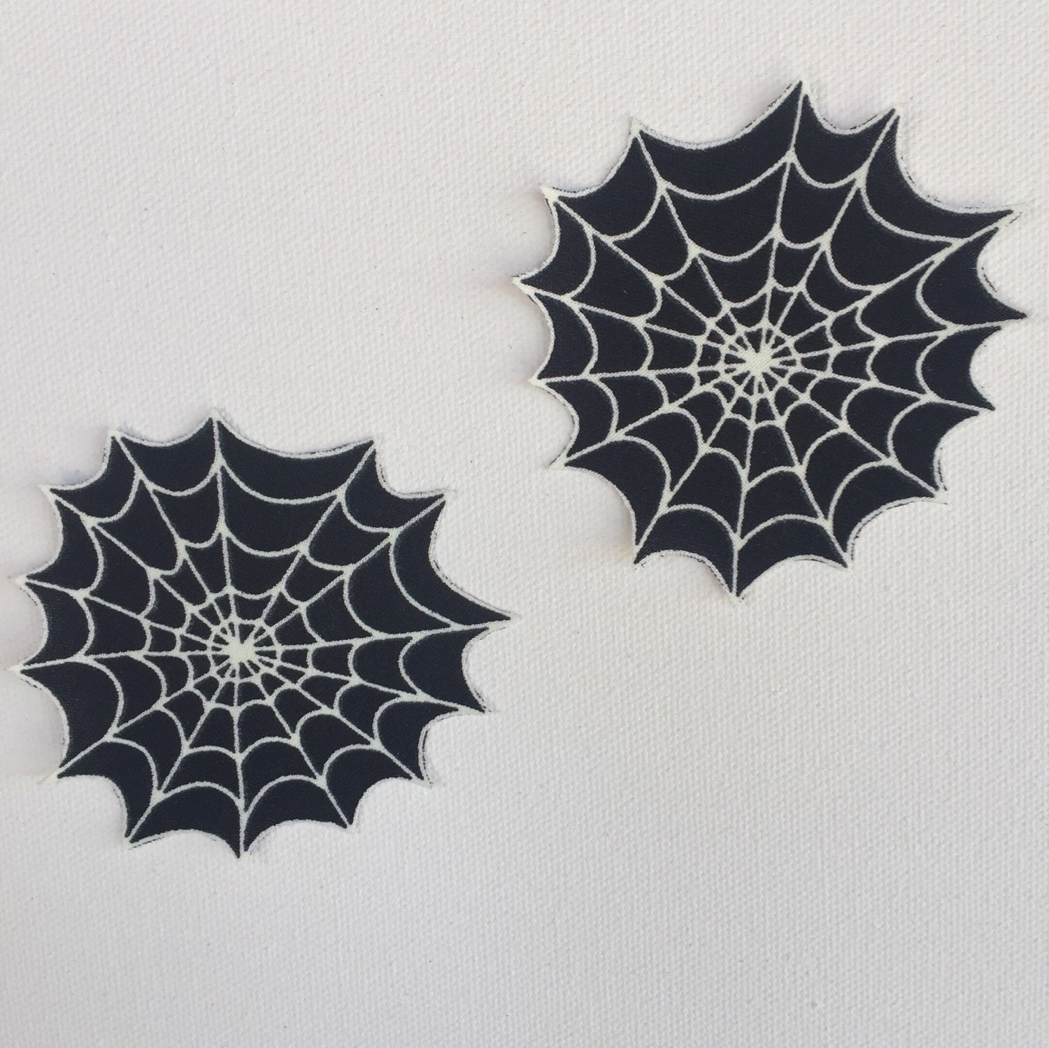Spider Web Pasties/Nipple Covers Glow In The Dark | Etsy