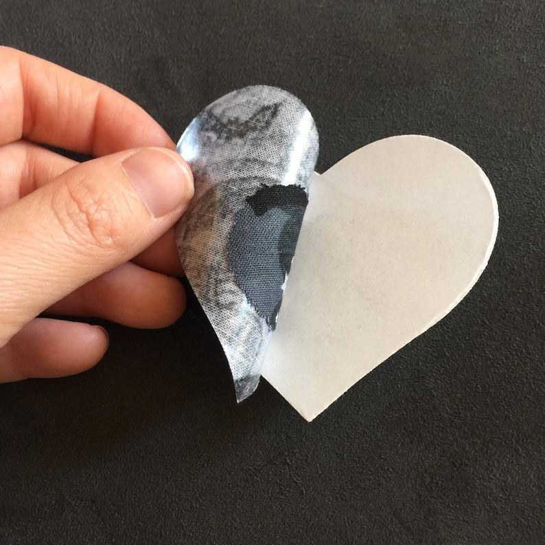 Halloween Bat Heart Shaped PastiesNipple Covers