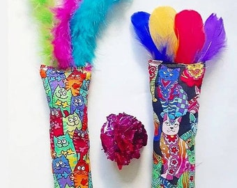 Colorful Cat Toys