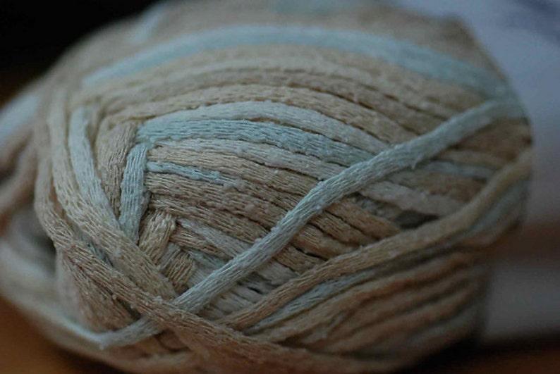 10 skeins of Sandstone silk yarn
