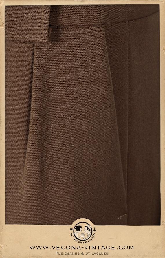 30 30 30 s 40 s pantalon gabardine swing lindy hop pantalon 1930 1940 339de4