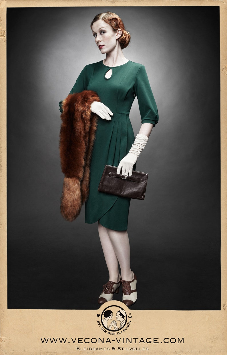1940s Women's Outfit Inspiration VeconaVintage  AT vintagedancer.com