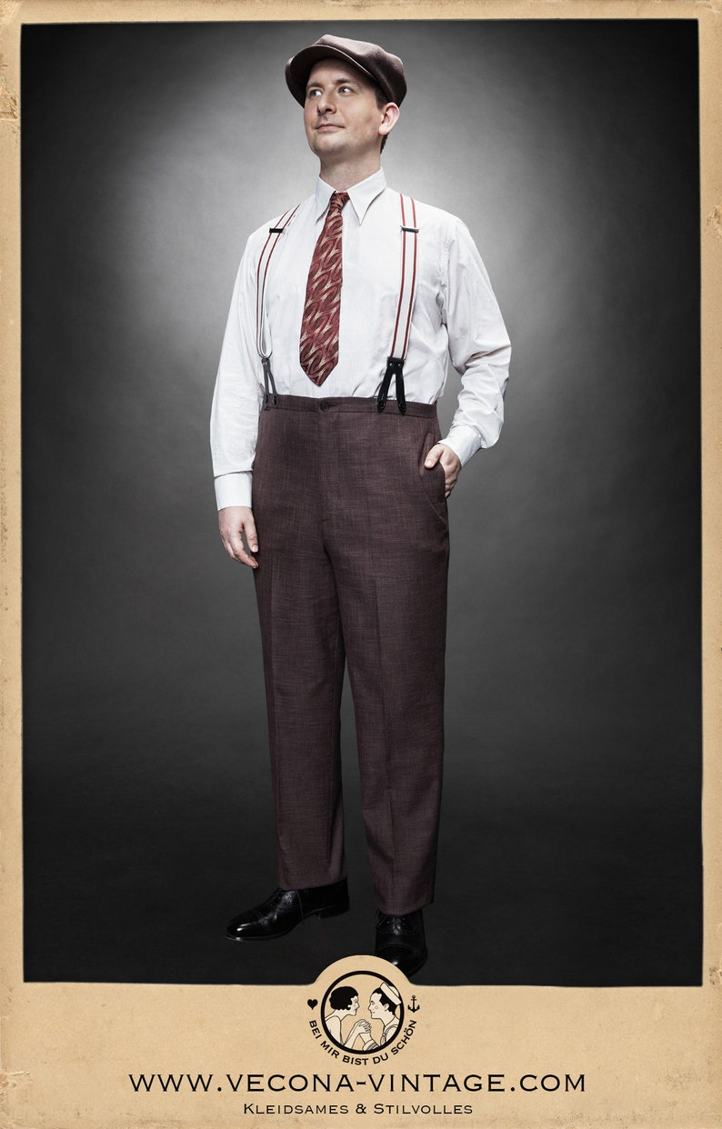 1930s Men's Outfit Inspiration   Costume Ideas VeconaVintage  AT vintagedancer.com