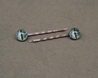 Dragon eye hairpins