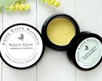 Nursing Cream | Organic Vegan Breastfeeding Nursing Balm and Salve