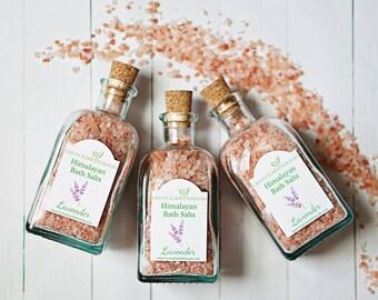 Bath Salts - Bath Salt - Lavender Essential Oil - Himalayan Bath Salts - Natural Bath Salts - Bath Soak