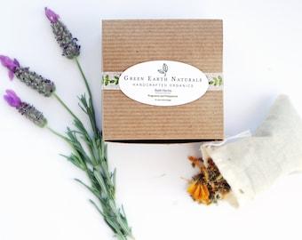 Postpartum Organic Bath Herbs Set | A Perfect Herbal Sitz Bath And Soak Herbal Soak For Postpartum Healing