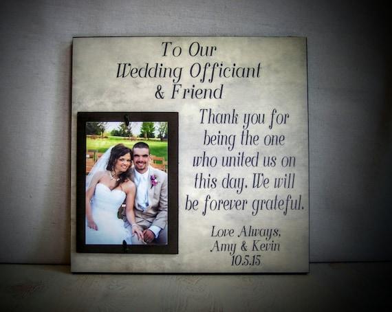 Wedding Officiant Gift Ideas