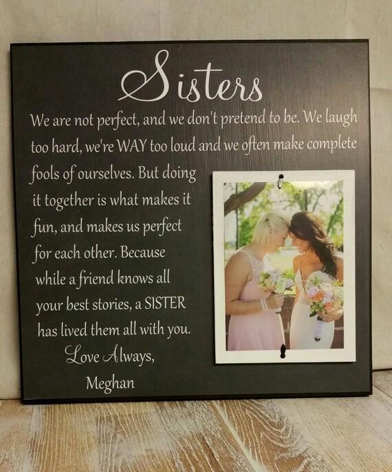 Wedding Gift For Acquaintance: Wedding Gift Sister Wedding Gift Wedding Thank You Gift