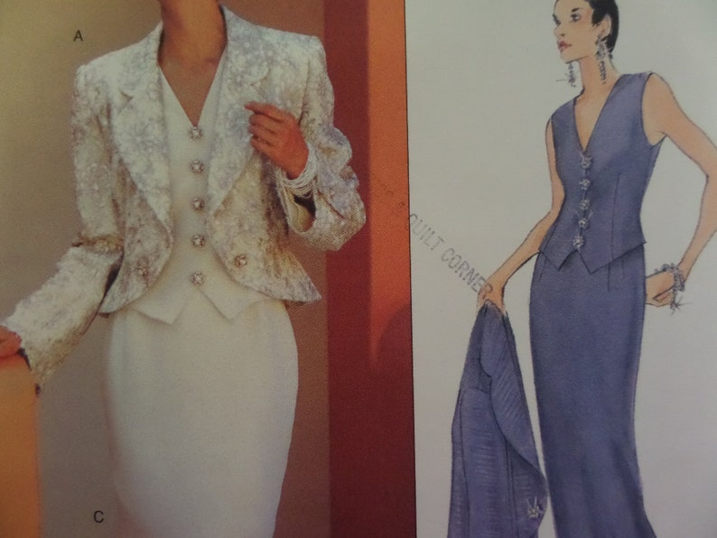 12-16 UNCUT Vogue Sewing Pattern 1608 Isabel Toledo Top Skirt Trousers 6-10