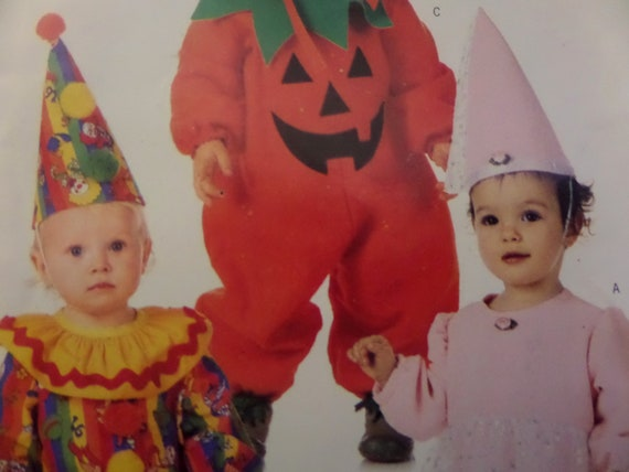 CLOWN COSTUME Pattern • Butterick 4598 • Infant S-XL • Pumpkin Outfit •  Princess • Sewing Patterns • Childrens Patterns • WhiletheCatNaps
