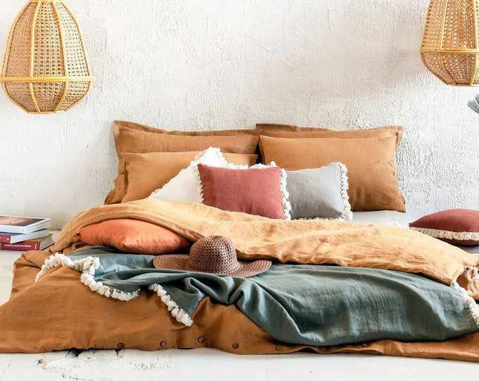 Linen duvet covers