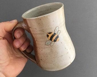 Mug with Bees - Tea - Coffee - Pollinators - Beekeeper (211)