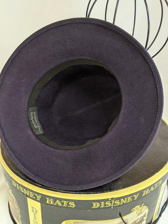 Patricia Underwood vintage wide brim felted wool … - image 4