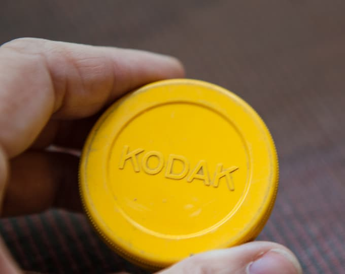 Vintage No. 5A Kodak Portrait Attachment lens made in the USA in original plastic case | Eastman Kodak Co.