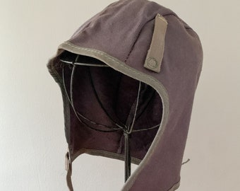 Vintage helmet liner cap w/ felt interior
