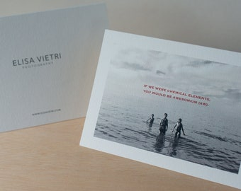 Photography greeting cards with quotable love-y cheeky sentiments, Photography by Elisa Vietri