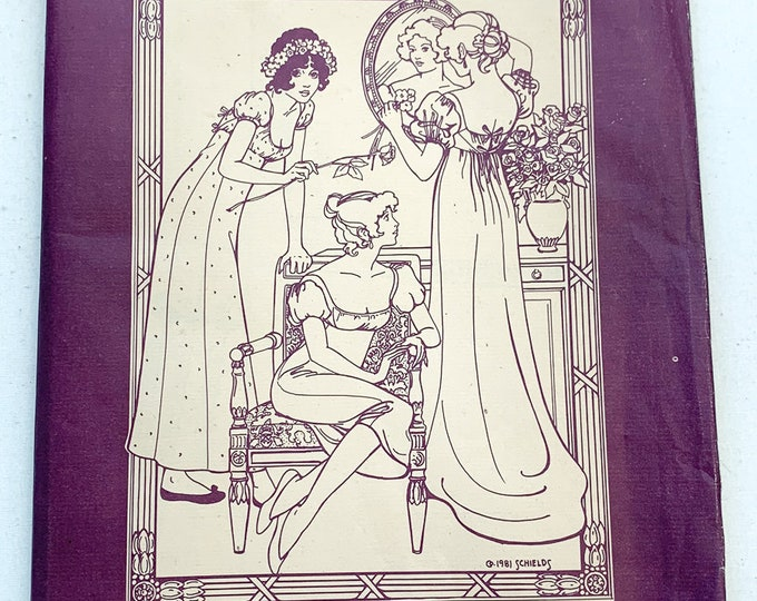 Vintage Folkwear sewing pattern 215 empire waist dress or chemise gown | Grecian style dress pattern | Sizes 6-8, 10-12, 14-16