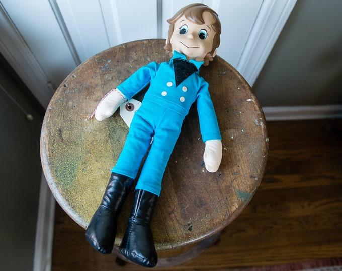 "Vintage 1980s mod ""Il Fantastico Mondo Di Paul"" (Paul's Miraculous Adventure) doll in original box | Made in Hong Kong"