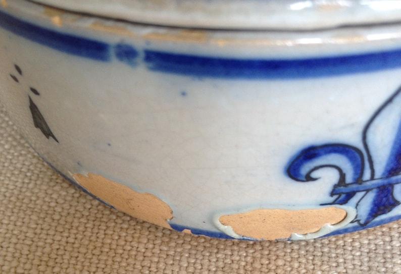 French vintage Quimper bowl