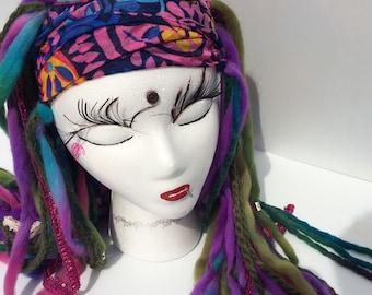 Dread Fall Headband Halfwig