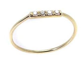 Diamond ring .