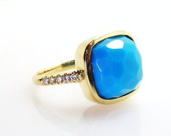 Turquoise Ring.