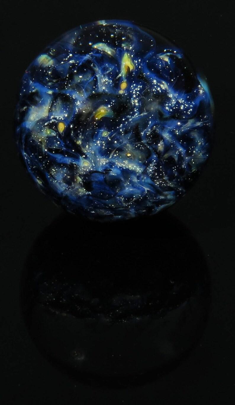 Galaxie naine de nébuleuse arrière verre marbre | Etsy