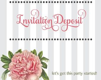Invitation Deposit