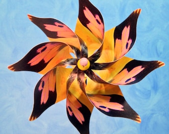 California Dogface Butterfly Pinwheel Spinner Whirligig Windmill