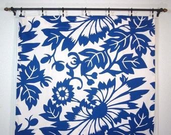 Blue Cafe Curtains Kitchen Curtain Thomas Paul Duralee 1 Pan 35x30