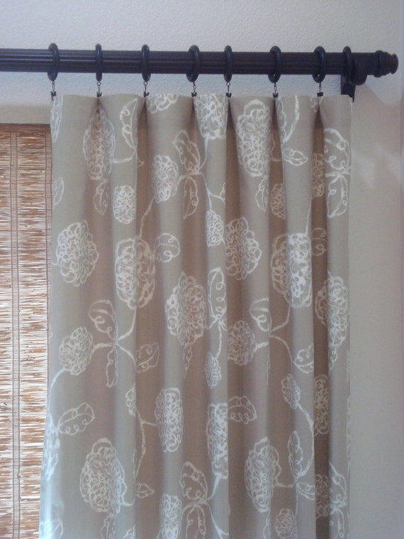 Magnolia Home Curtains Rod Pocket Pinch Pleat Kitchen