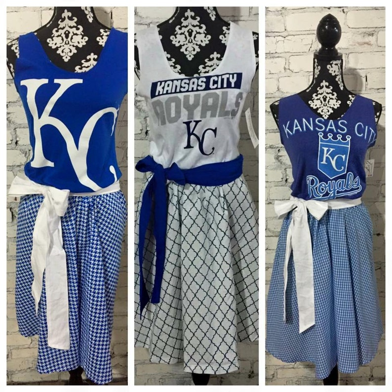 Ladies Game Day Team Spirit Dress  custom made to order image 0