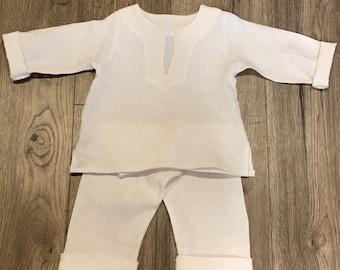 Linen Tunic and Pants set