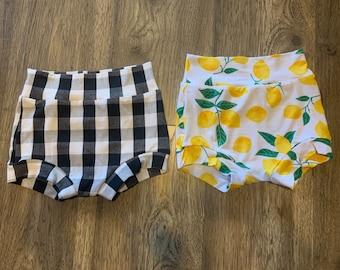 High-waist Bummies - shorties - knit shorts