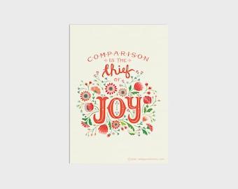 Thief of Joy Art Print