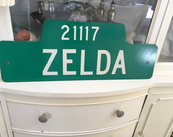 Vintage Metal Zelda Sign - Nintendo Lovers