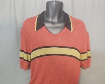 Vintage Dolce & Gabbana Maglie Knit Sweater Size US42 Chest Mens