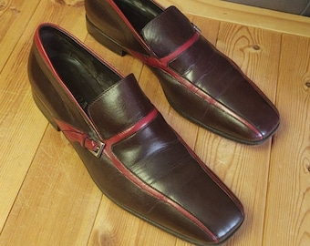 Vintage Men's Prada 2 Tone Loafers in Excellent Condition.