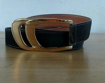 """Vintage Gucci Belt Men's size 28"""" to 42"""""""