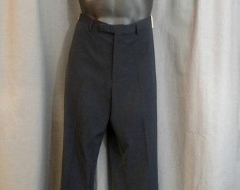Vintage John Paul Gaultier Classique Polyester Flat Front Pants