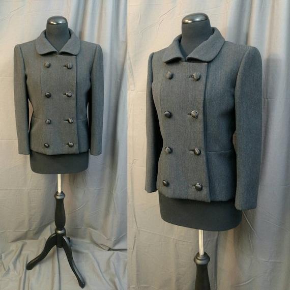 1950s Vintage Wool Ben Zuckerman New York Coat for