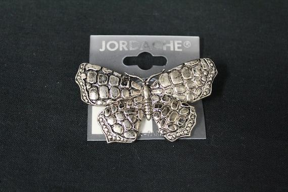 Vintage 1990s Jordache Silvertone Butterfly Novel… - image 1