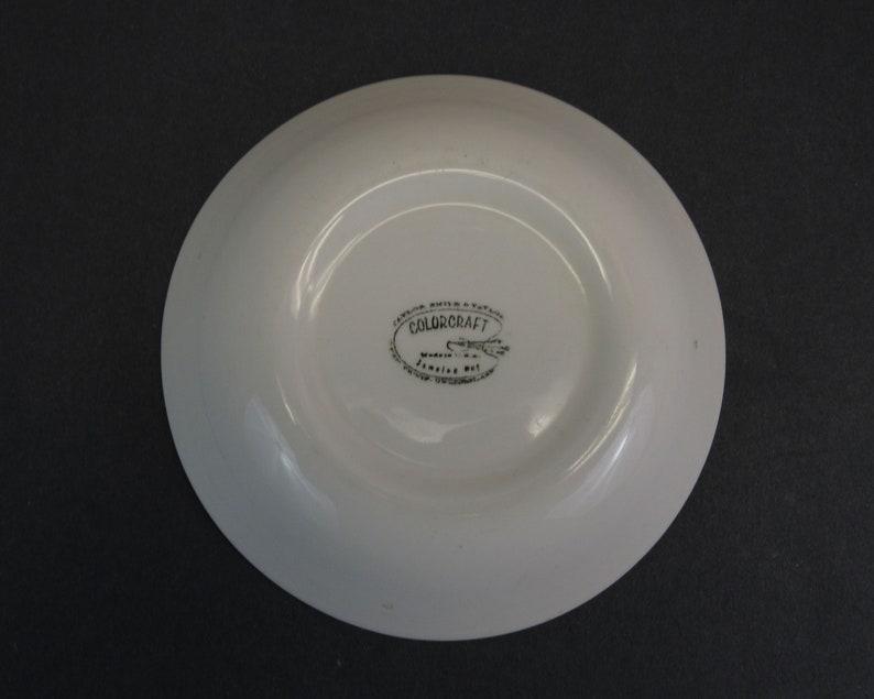Vintage Color Craft /'Jamaica Bay/' Bowl E11693