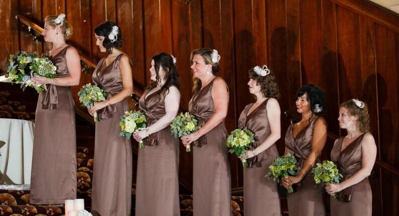 f100d711 Set of 6 Bridesmaid Fascinators wedding party headpieces | Etsy