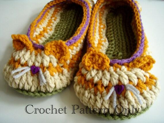 Crochet Socks, Cat Socks, Cat Slippers, House Socks, Animal Socks ...   428x570