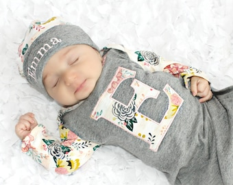 893780963 Personalized newborn outfit