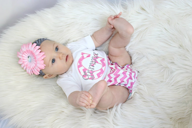 137f149fa73ea Personalized Baby Girl Clothes Newborn Girl Take Home Outfit | Etsy